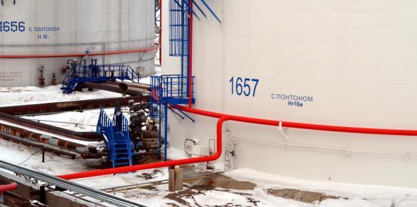 Антикоррозионная защита конструкций и технологического  оборудования резервуаров товарно-реагентного хозяйства установки КПА производства №4 ОАО «Газпромнефть-ОНПЗ»